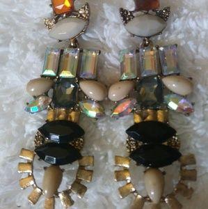 Gorgeous Faux Gems earrings